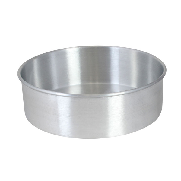ALUMINUM CAKE PAN, DOUGH PAN AND PIE PAN