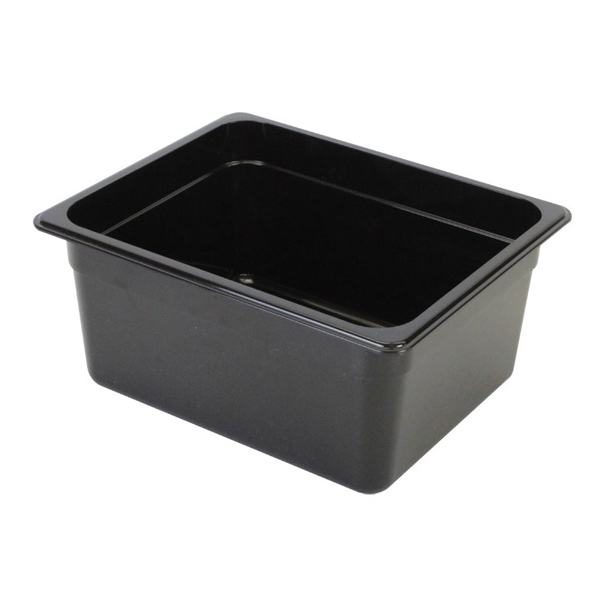 BLACK POLYCARBONATE FOOD PANS