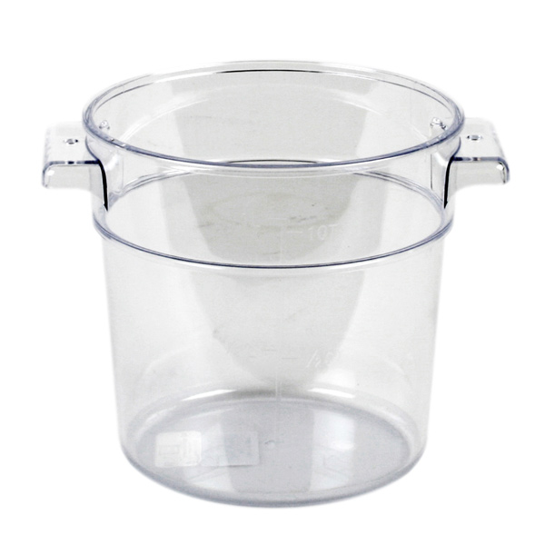 POLYCARBONATE ROUND FOOD STORAGE CONTAINERS