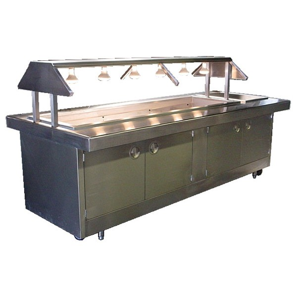 Buffet Style Steam Table SS