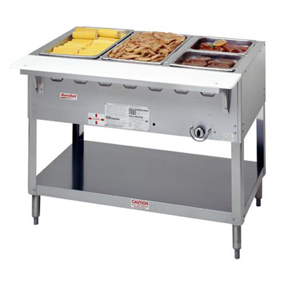 Steam Table, Aerohot®, Water Bath, 3 Openings, Gas
