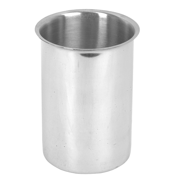 STAINLESS STEEL BAIN MARIE POTS & COVERS